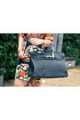 Black-ihana-store-dress-black-hermes-bag