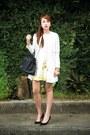 White-stradivarius-coat-black-hermes-bag