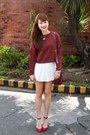 Brick-red-sweater-brick-red-bag-brick-red-zara-heels