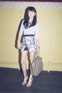 Heather-gray-celine-bag-heather-gray-zara-skirt