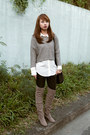 Heather-gray-cole-haan-boots-navy-bcbg-max-azria-tights