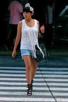 white mphosis blouse