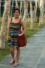 Brown-random-from-china-dress