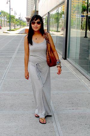 silver f21 dress