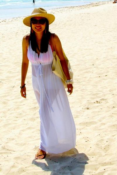 White Random From Boracay Dresses Beige Aranaz Purses Beige Random From Bora Has | U0026quot;white ...