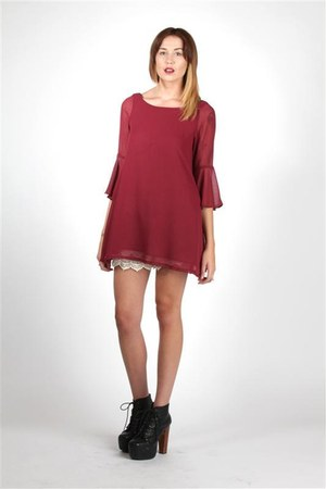 wine dress DORIS dress