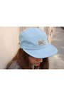 Light-blue-pop-trash-acne-jeans-light-blue-only-hat