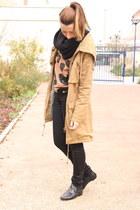 Topshop jumper - Topshop boots - asoscom jacket - H&M pants