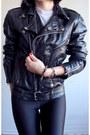 Metallic-tipped-jeffrey-campbell-heels-black-moto-vintage-80s-jacket
