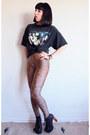 Black-lita-jeffrey-campbell-boots-gold-leopard-print-american-apparel-leggings