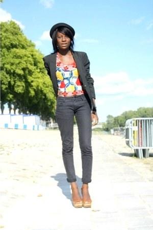 new look wedges - Zara vest