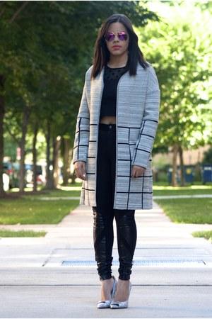 Sachin & Babi coat - nicki minaj pants - chiara ferragni heels - Forever 21 top