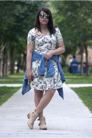 Forever 21 boots - Piol Dress dress - JCPenney shirt