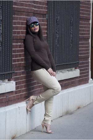Forever 21 shirt - Jcrew hat - zeroUV sunglasses - Forever 21 pants