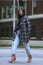 Macys-coat-forever-21-jeans-arden-b-bodysuit-gojane-heels