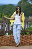 Forever 21 jeans - Zara blazer - Nine West heels