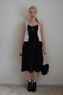 Thrifted-boots-jcrew-dress-dresscastles-bag-1950s-vintage-necklace