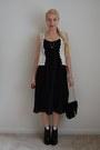 Thrifted-boots-jcrew-dress-dresscastles-bag-1950s-vintage-necklace