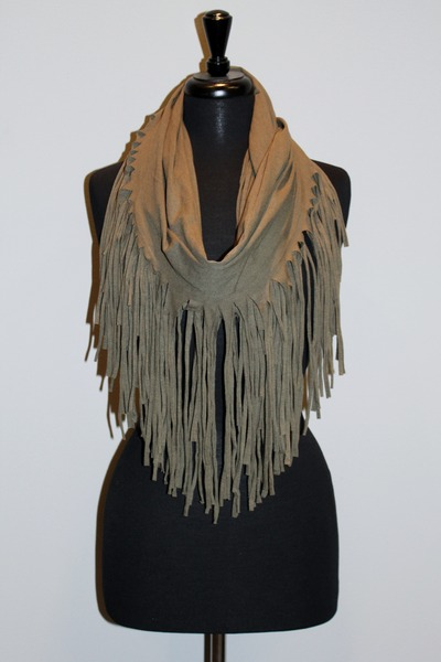 Fringe Infinity Esley Scarves Quot Fringe Infinity Scarf In