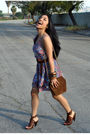 Brown-franco-sarto-shoes-gold-lucid-ny-accessories-blue-forever-21-dress