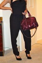 Forever21 suit - coach purse