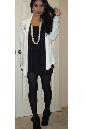 dress - Fashion Gal cardigan - Forever 21 shoes