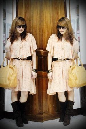 Forever21 dress - Mango belt