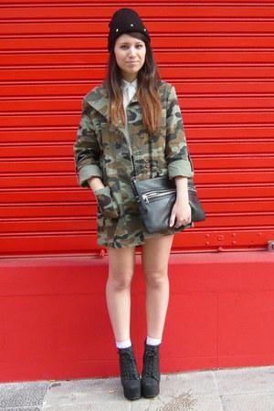 army green Nasty Gal jacket