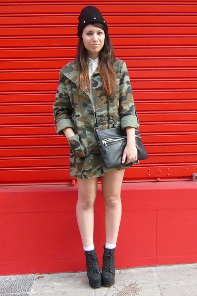 army green Nasty Gal jacket