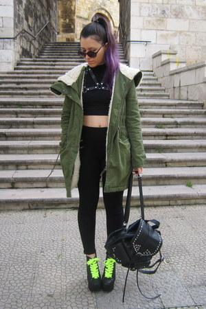 Zara jacket - BLANCO bag - SixInchMessOfWeb accessories