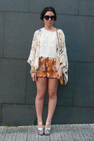 Cream Zara Cardigan