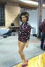 Polka-dot-80s-baby-vintage-shorts