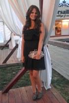 dark gray poema dress - heather gray ebay heels