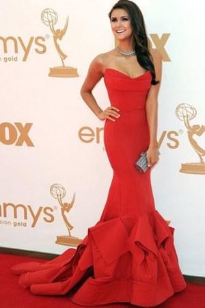 red dress - blue dress - black dress - deep purple dress - navy dress