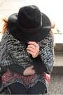 Black-zara-boots-black-forever-21-jeans-black-h-m-hat-black-balenciaga-bag