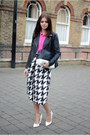 Black-forever-21-jacket-hot-pink-topshop-shirt-black-boohoo-pants