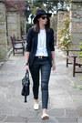 Black-7-for-all-mankind-jeans-black-h-m-hat-black-zara-blazer