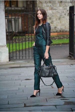 Dark Green Pants - How to Wear Dark Green Pants - Page 3 | Chictopia