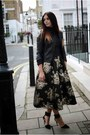 Black-zara-jacket-black-coast-skirt-gray-zara-jumper-black-zara-heels