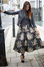 Black-zara-jacket-black-coast-skirt-gray-zara-jumper-black-zara-heels