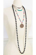 Bohemian Gemstone Necklace