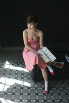 H&M dress - from japan socks - shoes