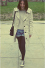 Marks-spencer-coat-vintage-bag-vintage-shorts-bershka-jumper-converse-sn