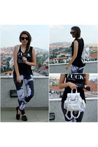 black 2dayslook top