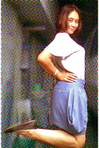 Fruit of the Loom t-shirt - skirt - shoes
