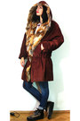 Maroon-vintage-coat-blue-blue-7-fam-jeans-bronze-creepers-no-brand-sneakers