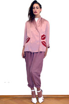pink Vintage feat Linie41 jacket