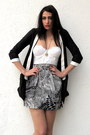 Black-self-tailored-blazer-black-self-tailored-skirt-off-white-vintage-top-
