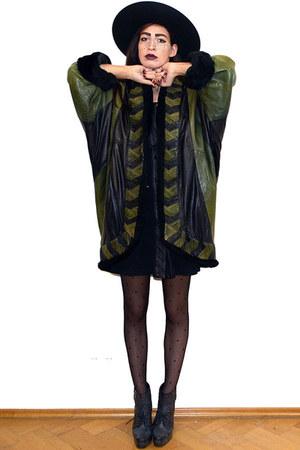 dark green vintage jacket