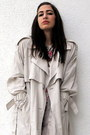Bubble-gum-hermes-dress-beige-vintage-coat-gold-etsy-necklace